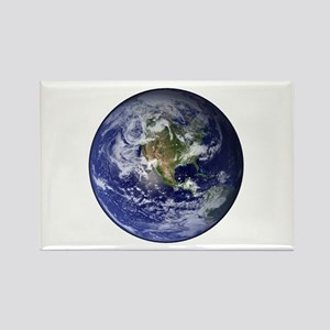 Western Earth from Space Rectangle Magnet