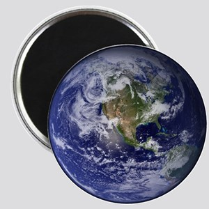 Western Earth from Space Magnet