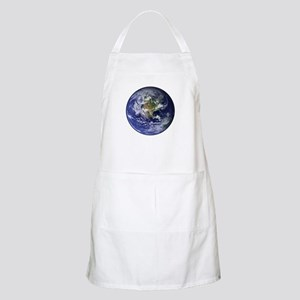 Western Earth from Space BBQ Apron