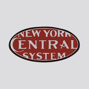 New York Central Railroad Logo-maroon Patch