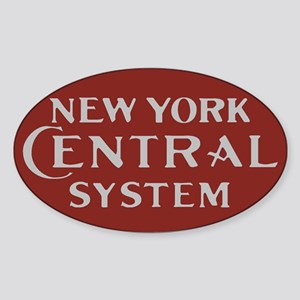 New York Central Railroad Logo-maroon Sticker
