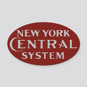 New York Central Railroad Logo-mar Oval Car Magnet