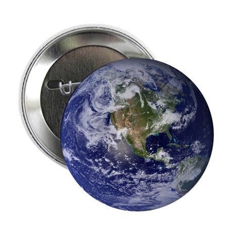 """Western Earth from Space 2.25"""" Button"""