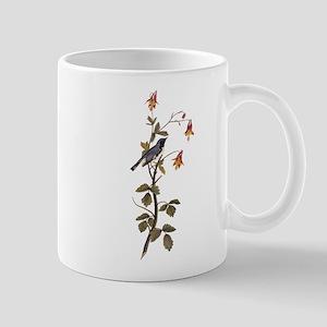 Black Throated Blue Warbler Vintage Audubon Mugs