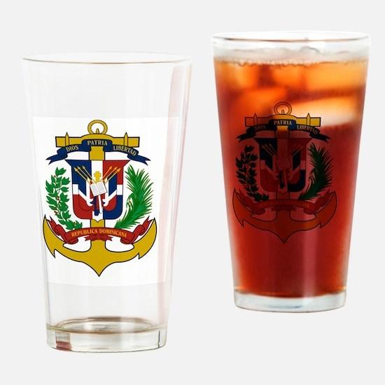 Unique Dominican Drinking Glass
