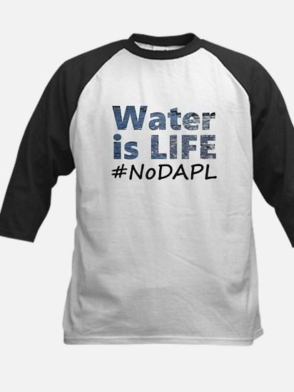 Water is Life - #NoDAPL Baseball Jersey