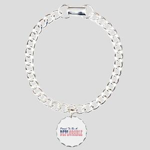 proud basket of Deplorab Charm Bracelet, One Charm
