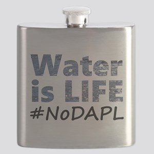 Water is Life - #NoDAPL Flask