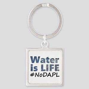 Water is Life - #NoDAPL Keychains