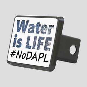 Water is Life - #NoDAPL Rectangular Hitch Cover