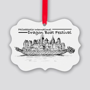 Phila Int'l Dragonboatfest Picture Ornament