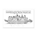 Phila Int'l Dragonboatfest Rectangle Car Magne