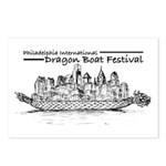 Phila Int'l Postcards (package Of 8)