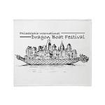 Phila Int'l Dragonboatfest Throw Blanket