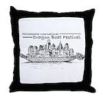 Phila Int'l DragonBoatFest Throw Pillow