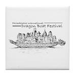 Phila Int'l Dragonboatfest Tile Coaster
