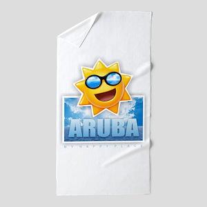 Aruba Beach Towel
