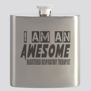 I Am REGISTERED RESPIRATry Flask