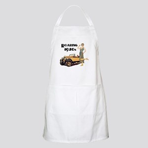 Roaring 20s Flapper and Auto Design Apron