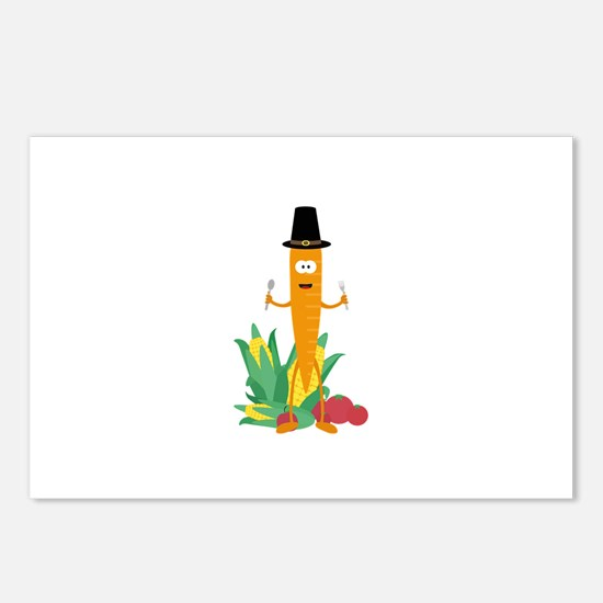 Thanksgiving Carrot with Postcards (Package of 8)