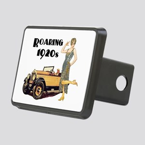 Roaring 20s Flapper and Au Rectangular Hitch Cover