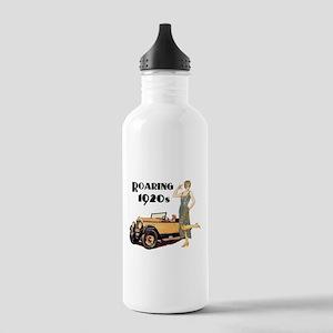 Roaring 20s Flapper an Stainless Water Bottle 1.0L