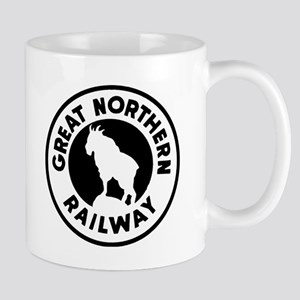 Great Northern Railway logo Mugs