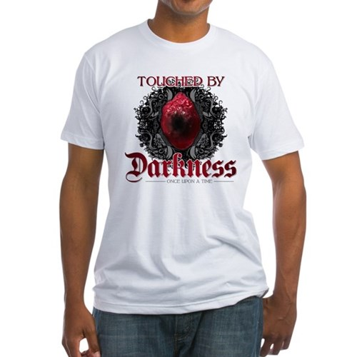 Touched by Darkness Fitted T-Shirt