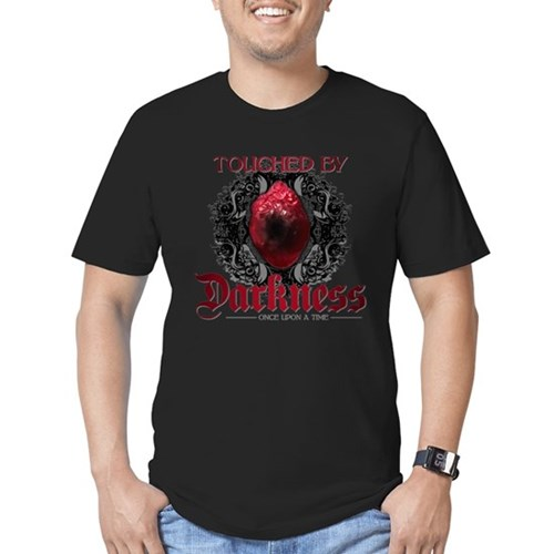 Touched by Darkness Men's Dark Fitted T-Shirt