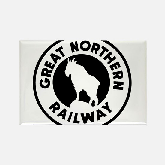 Great Northern Railway logo Magnets