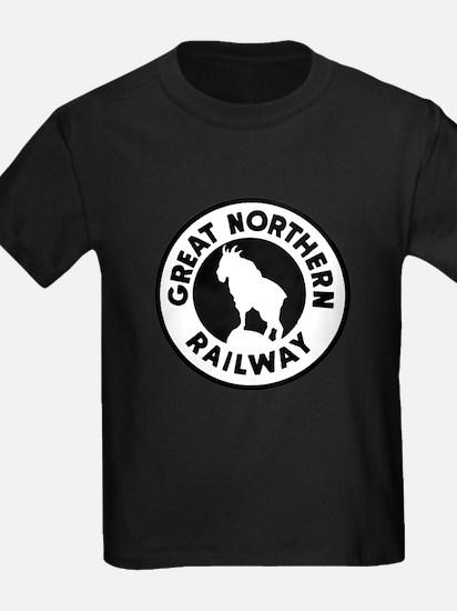 Great Northern Railway logo T-Shirt