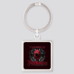 Touched by Darkness Square Keychain