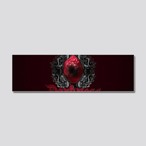 Touched by Darkness Car Magnet 10 x 3