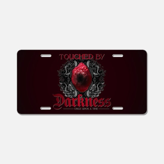 Touched by Darkness Aluminum License Plate