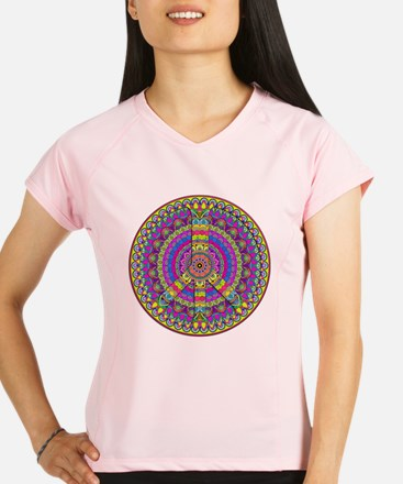 Cute Peace Performance Dry T-Shirt