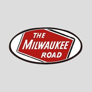 Milwaukee Road logo- slanted Patch