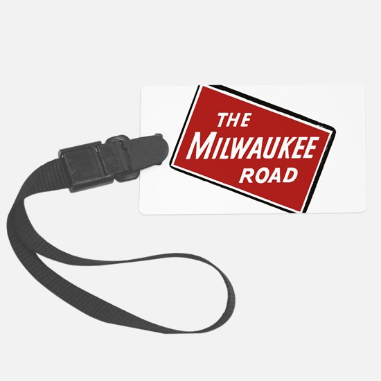 Milwaukee Road logo- slanted Luggage Tag