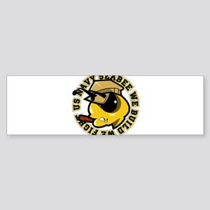 Angry SeaBee Bumper Sticker