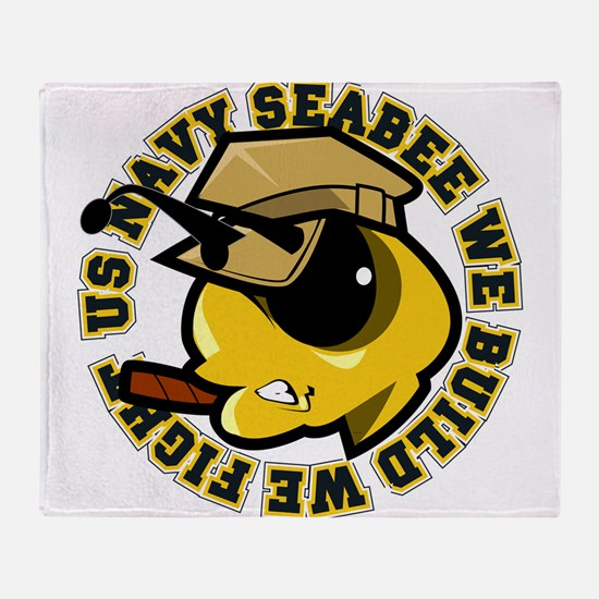 Angry SeaBee Throw Blanket