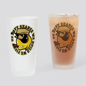 Angry SeaBee Drinking Glass