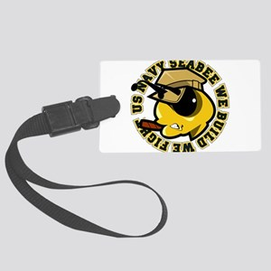 Angry SeaBee Luggage Tag
