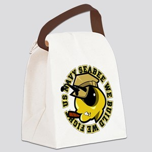 Angry SeaBee Canvas Lunch Bag