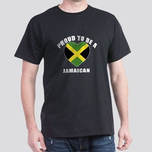 Jamaican Patriotic Designs Dark T-Shirt