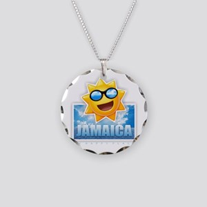 Jamaica Necklace Circle Charm