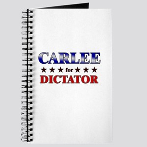 CARLEE for dictator Journal