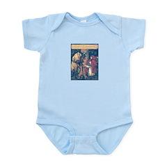 Crane's Red Riding Hood Infant Bodysuit