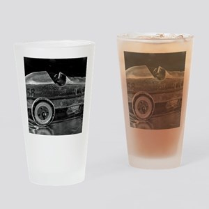 Toy Race Car Drinking Glass