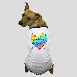 RN NURSE PRAYER Dog T-Shirt