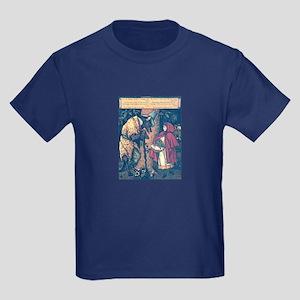 Crane's Red Riding Hood Kids Dark T-Shirt
