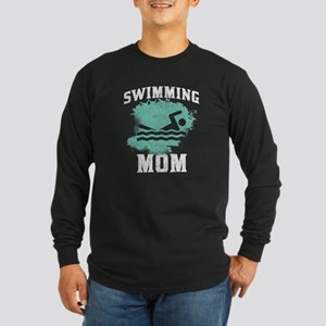 Swimming Mom Long Sleeve T-Shirt